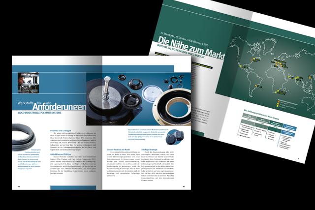 Broschüre der Automotive-Markenstrategie zur Mitarbeiter-Kommunikation