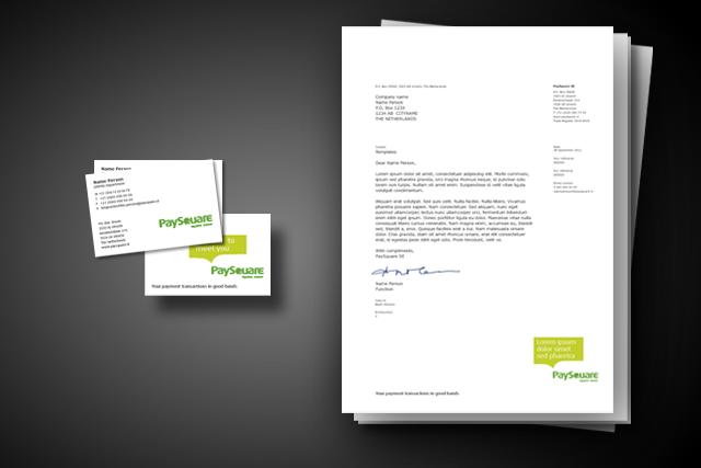 Gestaltung Briefpapier und Visitenkarten