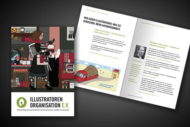 io frankfurt broschren gestaltung - Imagebroschure Beispiele