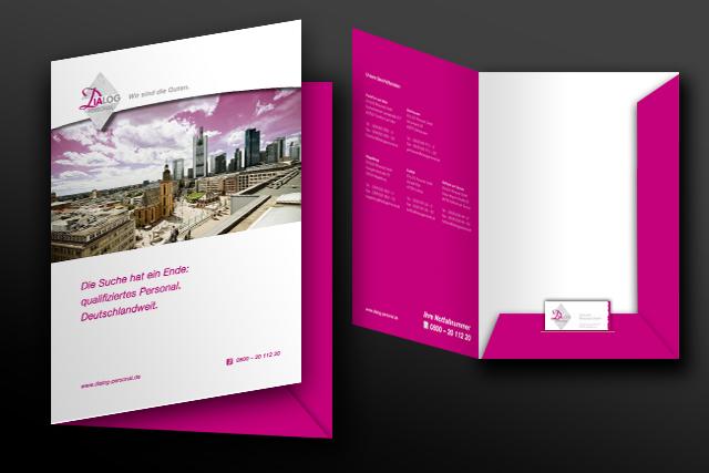 Gestaltung von Präsentationsunterlagen