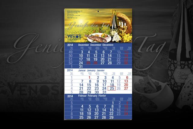 Gestaltung von Kalendern