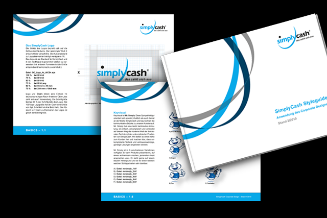 Corporate Design Handbuch (Styleguide) für E-Commerce und Payment