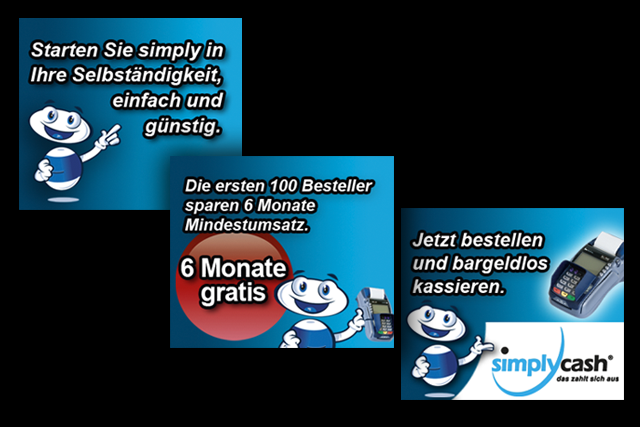 E-Commerce und Payment Kampagne: Online-Banner