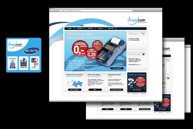 Webdesign für Webshop für E-Commerce und Payment Services