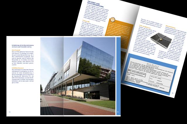 Broschüren Gestaltung für die Justus-Liebig-Universität Gießen (Universität/Hochschulen)
