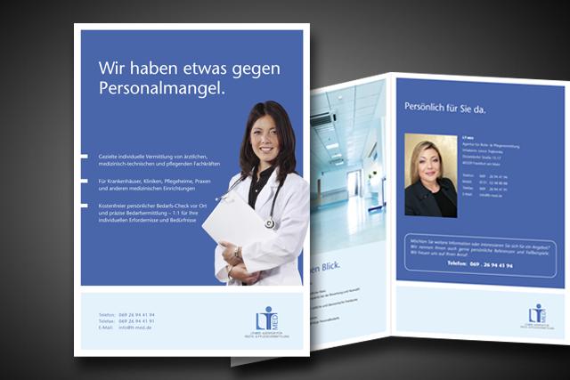 Imagebroschüre für LT-med Frankfurt