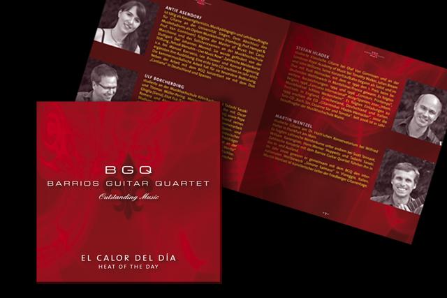 Das Cover der neuen CD mit Innenseite (Kultur, Musik)