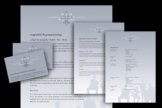 Briefpapier, Visitenkarte zur modularen Verwendung, Kultur