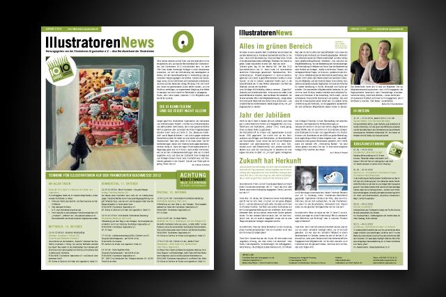Corporate Publishing Gestaltung und Produktion für Illustratoren Organisation, Frankfurt
