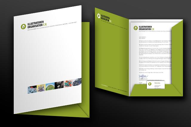 Gestaltung und Design von Präsentatiosmappen und Prodution