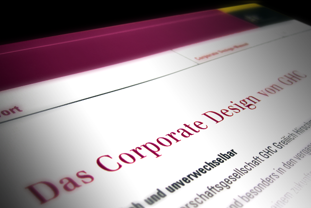 Corporate Design Handbuch