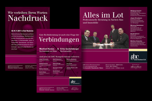 Werbung für Rechtsanwälte: Imageanzeigen in Fachzeitschriften