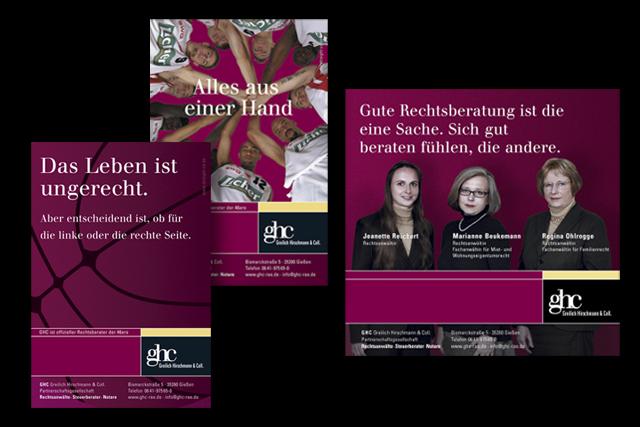 Werbung für Rechtsanwälte: Imageanzeigen und Sponsoring
