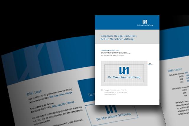 Stiftung Markenstrategie, Corporate Design mit Styleguide (Handbuch)