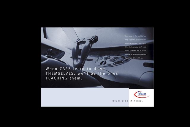 Imagekampagne Plakat/Billboard Motiv für Infineon Halbleiter-Technik