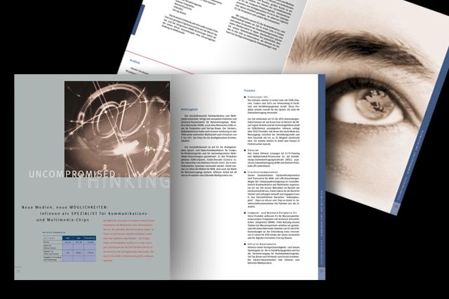 Geschäftsbericht für Infineon Halbleiter-Technik – Image-Teil