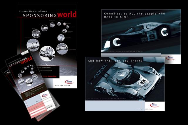 Kommunikationskonzept und Design für alle Sponsoring-Aktivitäten