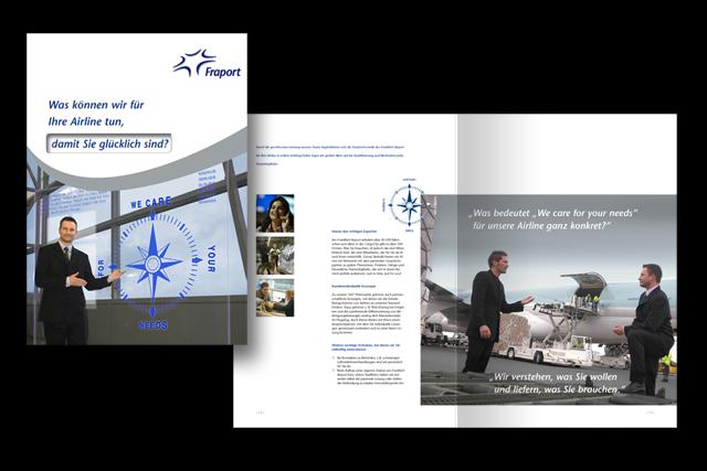Imagebroschüre Konzept für Touristik, Transport-Logistik