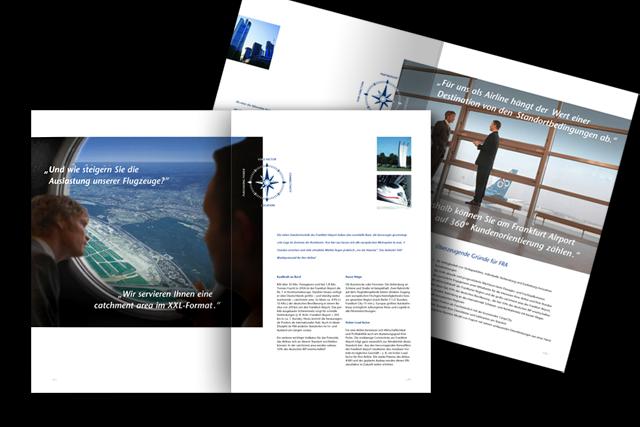 Imagebroschüre (Innenseiten) für Touristik, Transport-Logistik
