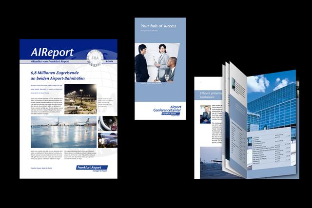 Broschüren und Magazine, Frankfurt Airport (Touristik))