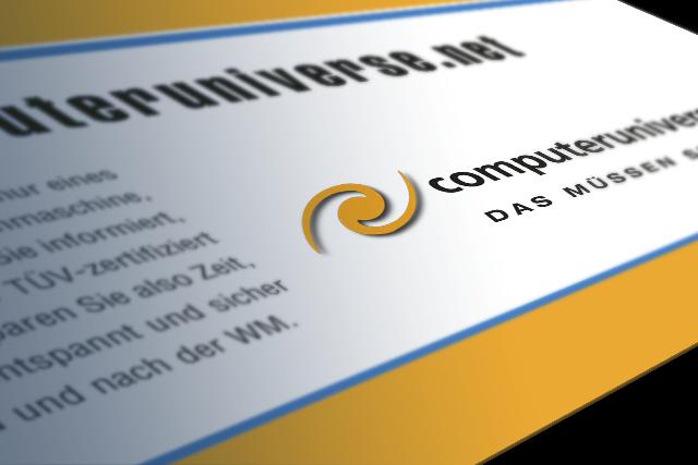 Image-Kampagne: Konzept für computeruniverse.net