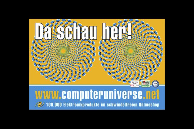 Image-Kampagne für computeruniverse.net, Motiv 1