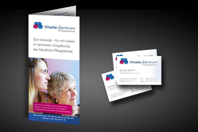 Webseite für Pflegedienste in Frankfurt