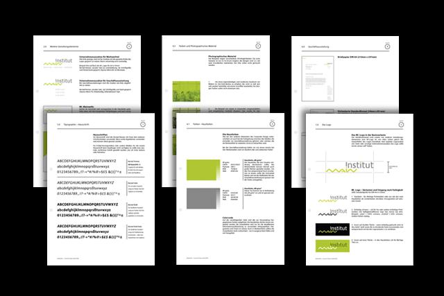 Corporate Design Handbuch (Styleguide) für Anbieter von Aus- und Weiterbildungs-Maßnahmen